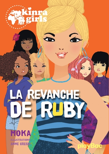 "Afficher ""kinra girls - la revanche de ruby - tome 22"""